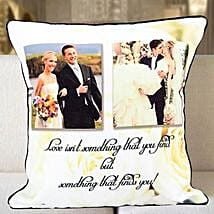 Personalized Years Of Togetherness Cushion: Send Personalised Cushions for Wedding