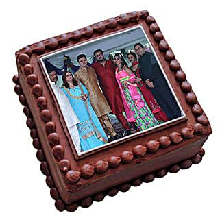 Photo Square Chocolate Cake: Cakes to Mapusa