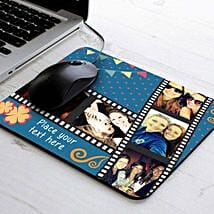 Picture Strip Personalized Mouse Pad: Womens Day Gifts for Wife