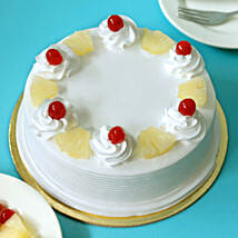 Pineapple Cake: Send Valentine Cakes to Ghaziabad