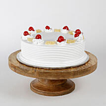 Pineapple Cake: Send New Year Cakes to Ghaziabad