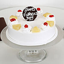Pineapple Cream Cake For Dad: Fathers Day Cakes
