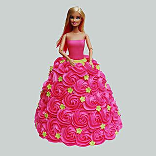 Pink Barbie Cake: Cake Delivery in Kalyan