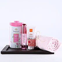 Pink Essentials For Girl Hamper: Send Gift Hampers to Ghaziabad