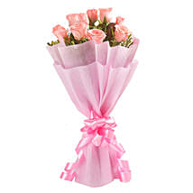 Pink in Vogue: Send Valentine Flowers to Panchkula