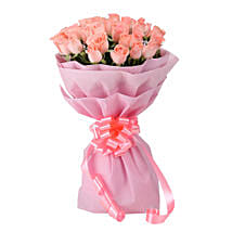 Pink Perfection: Flower Bouquets Gurgaon