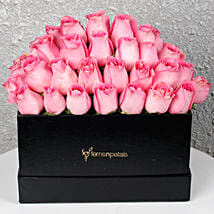 Pink Roses Box of Happiness: Premium Gifts
