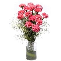 Pink Sweet Heart: Thank You Carnations