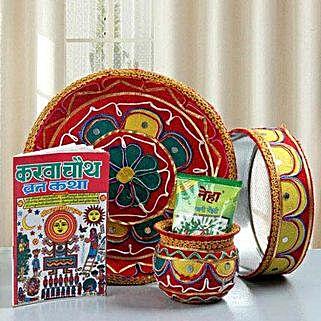 Pooja Ki Thali: Karwa Chauth Gifts for Bahu