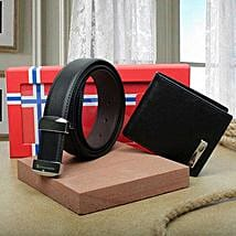 Premium Belt And Wallet Combo: Birthday Gifts for Friend