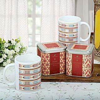 Premium Tea Hamper: Send New Year Gift Hampers