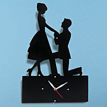 Propose Wall Clock: Gifts for Her