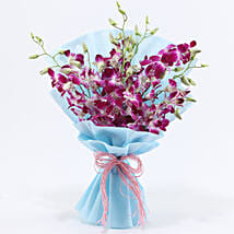 Purple Orchids: Flower Bouquets Gurgaon