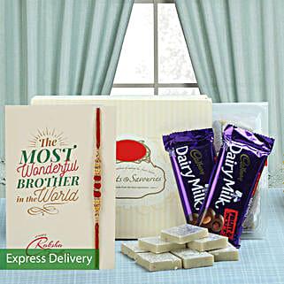 Pyaar For Bro: Send Rakhi With Sweets to Srinagar
