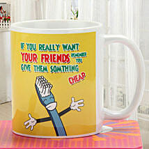 Quirky Friendship Mug: Funny Gifts