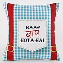 Quirky Printed Cushion For Dad: Cushions for Fathers Day