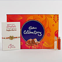 Rakhi Cadbury Celebrations Combo: Send Rakhi to Dhanbad