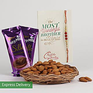 Rakhi Choco And Almonds: