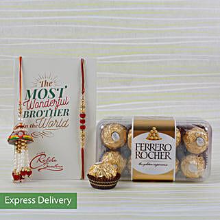 Rakhi Choco Bonding: Rakhi With Chocolates Bestsellers