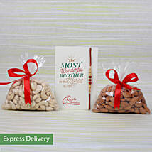 Rakhi Dry Fruits Combo: Rakhi Express Delivery