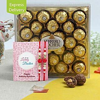 Rakhi Ferrero Rocher Hamper: