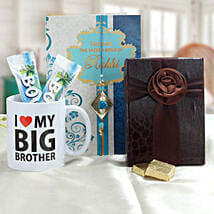 Rakhi For Big Brother: Rakhi with Mugs