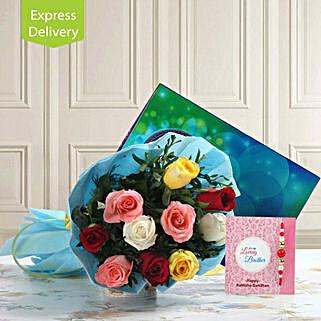 Rakhi Surprises With Roses: