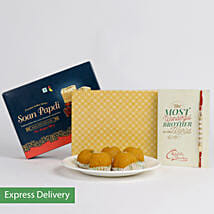 Rakhi Sweet Express: Rakhi with Sweets