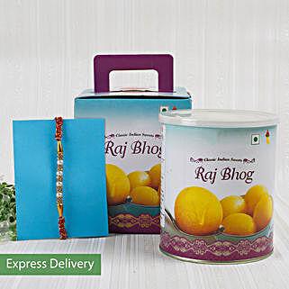 Rakhi With Rajbhog Sweets: Raksha Bandhan Sweets