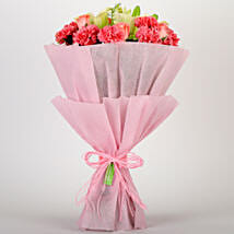 Ravishing Mixed Flowers Bouquet: Send Flowers to Allahabad