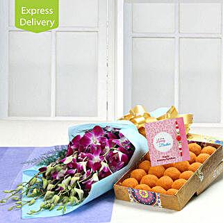 Really Elegant Rakhi: Rakhi Express Delivery