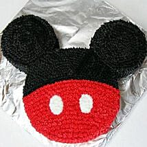 Red N Black Mickey Mouse Cake: Cakes to Tanur