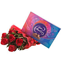 Red Sensation: Flowers N Chocolates - birthday
