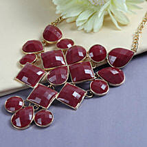 Red Stone Necklace: Rakhi to Ambernath