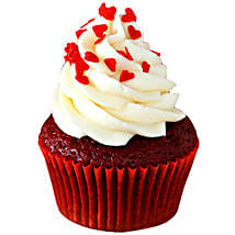 Red Velvet Cupcakes: Send Valentine Cakes to Kolkata