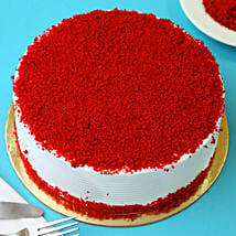 Red Velvet Fresh Cream Cake: Send Birthday Cakes to Ranchi