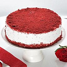 Red Velvet Fresh Cream Cake: Birthday Cakes for Friend