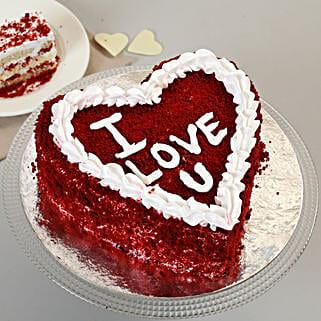 Red Velvet Love Cake: Wedding Cakes to Bhopal