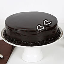 Rich Velvety Chocolate Cake: Send Valentines Day Cakes to Patna