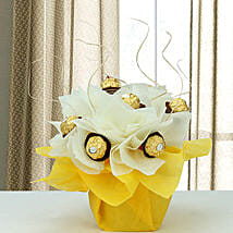 Rocher Surprise: Chocolate Bouquet for Kids