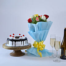 Roses and Black Forest Cake: Send Mothers Day Gifts to Nagpur
