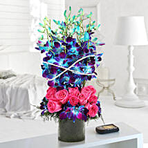 Roses And Orchids Vase Arrangement: I Am Sorry