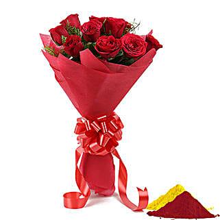 Rosy Holi Celebration: Holi Flowers
