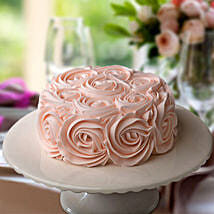 Rosy Pink Choco Cake: Cakes to Gomia