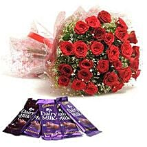 Rush Of Romance: Flowers and Chocolates for Christmas