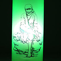 Sai Baba Bottle Lamp: Send Home Decor Gifts for Her