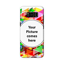 Samsung Galaxy S8 Customised Vibrant Mobile Case: Personalised Back Covers
