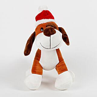 Santa Dog Stuffed Toy: Soft Toys for Christmas