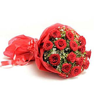 Scarlet Love: Valentine Flowers Gandhinagar