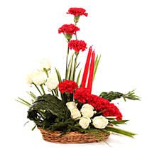 Serene Expression Of Love: Send Carnations